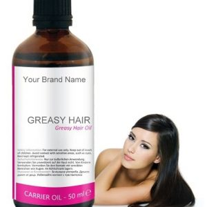 Greasy Hair Carrier Oil 100% Natural Product Private Label | Wholesale