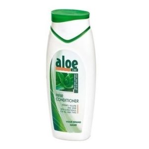Hair Conditioner Aloe Vera For All Hair Types Paraben Free Private Label Available | Wholesale | White Label