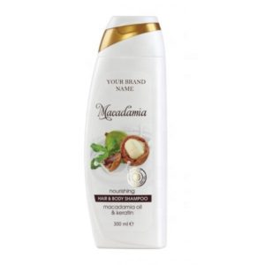 Hair and Body Shampoo Macadamia Oil Paraben Free Private Label Available | Wholesale | White Label