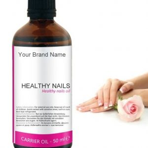 Healthy Nails Carrier Oil 100% Natural Product Private Label | Wholesale