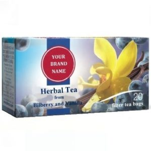 Herbal Tea From Bilberry And Vanilla Only In Private Label | Wholesale | White Label