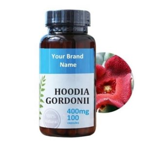 Hoodia Gordonii Food Supplement Natural Private Label | Wholesale | Bulk