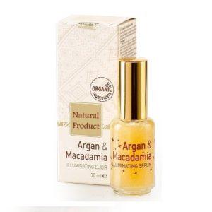 Illuminating Facial Elixir With Argan And Macadamia Oils Natural Cosmetic Products | Wholesale