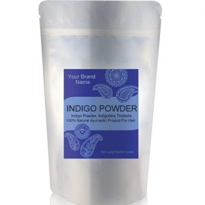 Indigo Powder (Black Henna) Ayurveda Hair Care 100% Natural Product Private Label | Wholesale | Bulk