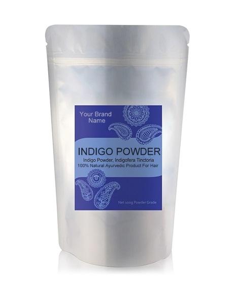 Indigo Powder (Black Henna) Ayurveda Hair Care 100% Natural Product Private Label | Wholesale | Bulk
