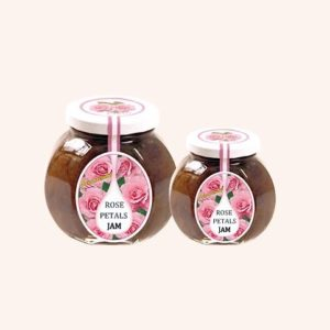 Jam From Rose Petals - 230 g. 40% Rose Petal Content Private Label | Wholesale | Bulk | Made In EU