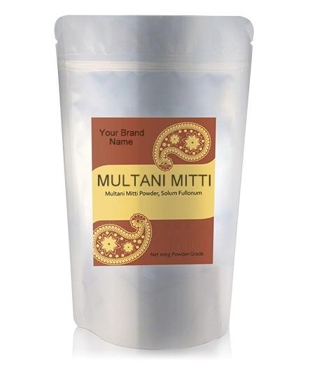 Multani Mitti Powder Ayurveda Hair And Skin Care 100% Natural Product Private Label | Wholesale | Bulk