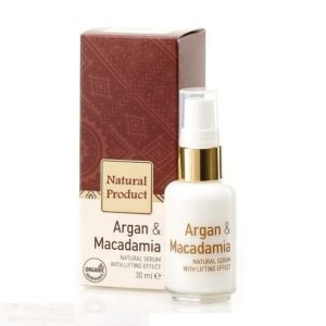Natural Lifting Serum With Argan And Macadamia Oils Natural Cosmetic Products | Wholesale