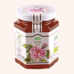 Organic Bio Jam From Rose Petals - 230 g Private Label | Wholesale | Bulk | Made In EU