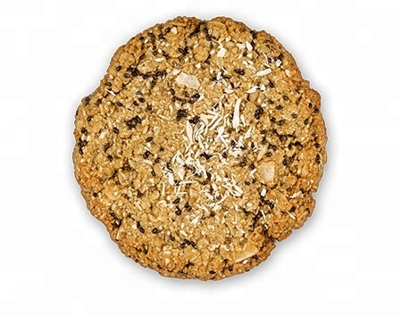 Organic Cookies From Oats And Cashews With Chia And Lemon ...