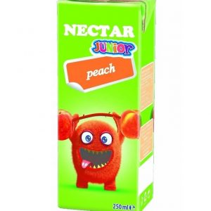 Peach Juice For Children Nectar Fruit Drink