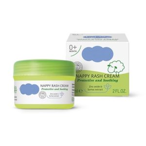 Protective And Soothing Baby Nappy Rash Cream 0+ Months With Herbal Extracts Baby Skin Care Dermatologically Tested