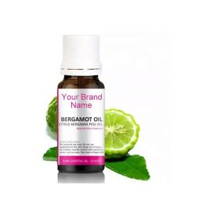 Pure Bergamot Essential Oil 100% Natural Product Private Label | Wholesale