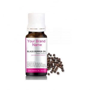 Pure Black Pepper Essential Oil 100% Natural Product Private Label | Wholesale