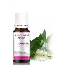 Pure Cajeput Essential Oil 100% Natural Product Private Label | Wholesale
