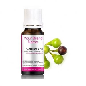 Pure Camphora Essential Oil 100% Natural Product Private Label | Wholesale