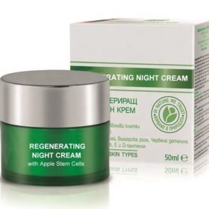 Repairing Night Cream With Apple Stem Cells For Normal Dry And Sensitive Skin