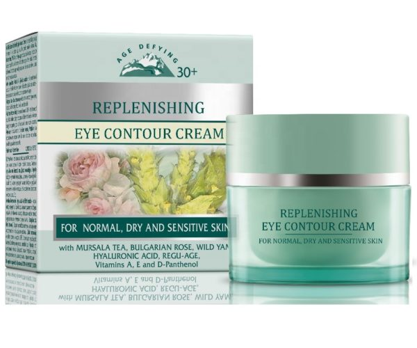 Replenishing Eye Contour Cream With Anti Age Effect For Normal Dry And Sensitive Skin