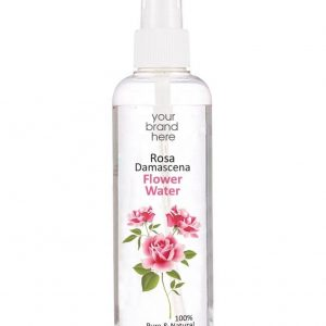 Rose Water From Bulgarian Rosa Damascena Bottle With Pump Private Label | Wholesale | Bulk | White Label