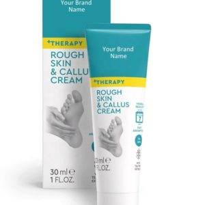 Rough Skin And Callus Foot Cream With 2% Salicylic Acid And Tea Tree Extract Dermatologically Tested | Wholesale | Made in EU