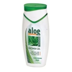 Shower Gel Aloe Vera For Fresh Skin Paraben Free Private Label Available | Wholesale | White Label