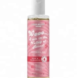 Shower Gel With Rose And Palmarosa Private Label | Wholesale | Bulk | Made In EU