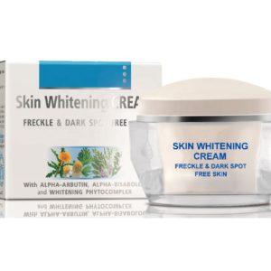 Skin Whitening Cream For Freckle & Dark Spot Free Skin