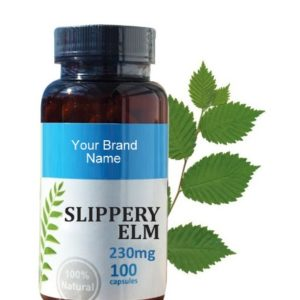 Slippery Elm Food Supplement Natural Private Label | Wholesale
