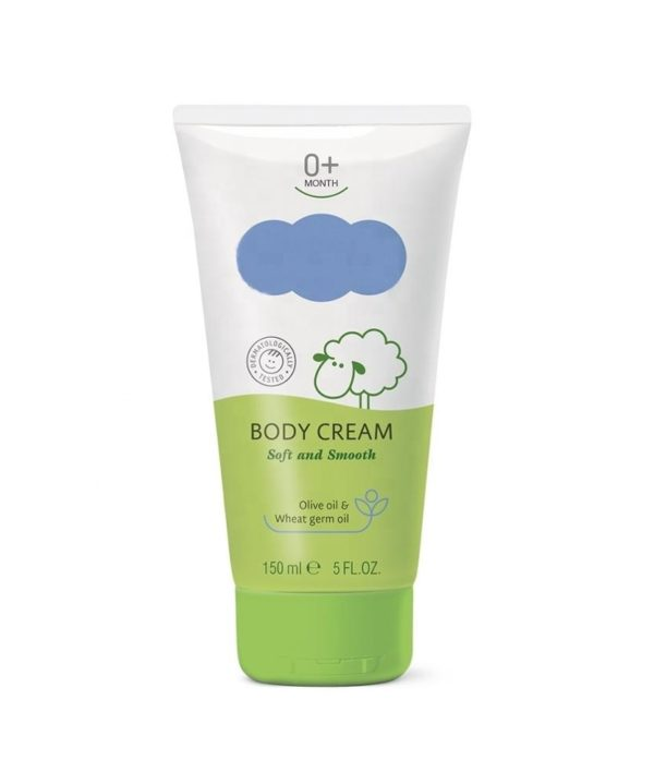 Soft And Smooth Baby Body Cream 0+ Months With Herbal Extracts Baby Skin Care Dermatologically tested