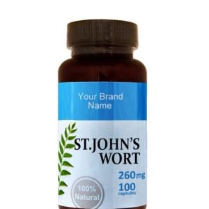 St. John's Wort Food Supplement Natural Private Label | Wholesale