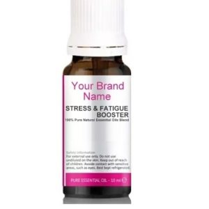 Stress And Fatigue Booster Essential Oils Blend 100% Natural Product Private Label | Wholesale