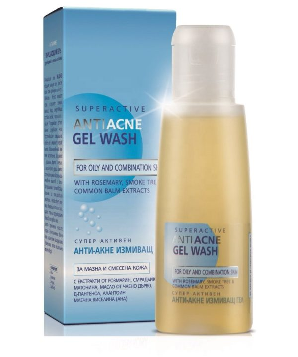 Super Active Anti-Acne Gel Wash For Oily And Combination Skin | Wholesale