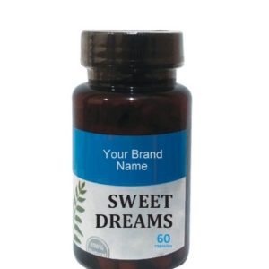Sweet Dreams Food Supplement Natural Private Label | Wholesale | Bulk