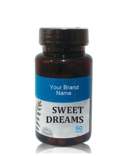 Sweet Dreams Food Supplement Natural Private Label   Wholesale   Bulk