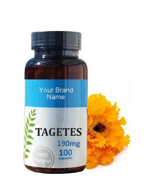 Tagetes Food Supplement Natural Private Label | Wholesale