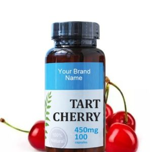 Tart Cherry Food Supplement Natural Private Label | Wholesale