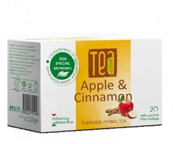 Tea With Apple And Cinnamon Only In Private Label | Wholesale | White Label