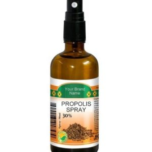 Throat Spray With Propolis 100% Natural Product Private Label | Wholesale