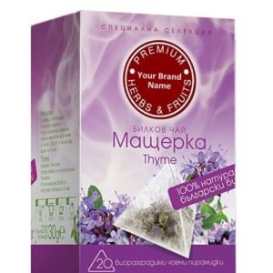 Thyme Herbal Tea Natural Product Private Label | Wholesale | Bulk Made in EU