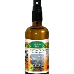Tibetan Drops Throat Spray With Propolis 100% Natural Product Private Label | Wholesale