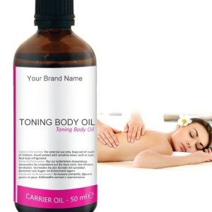Toning Body Carrier Oil 100% Natural Product Private Label | Wholesale