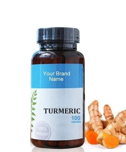 Turmeric Food Supplement Natural Private Label | Wholesale