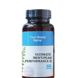 Ultimate Men's Peak Performance II Natural Private Label | Wholesale