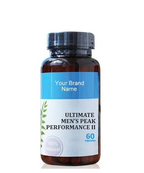 Ultimate Men's Peak Performance II Natural Private Label | Wholesale