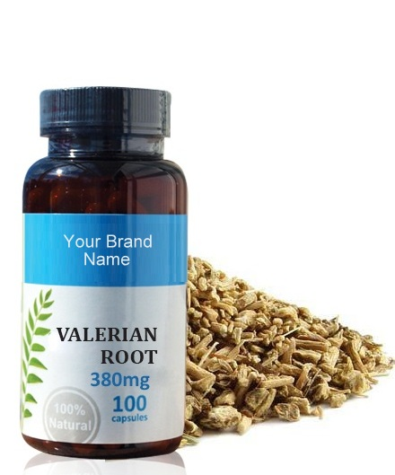 Valerian Root Food Supplement Natural Private Label | Wholesale