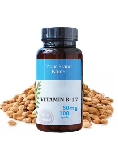 Vitamin B17 Food Supplement Natural Private Label | Wholesale