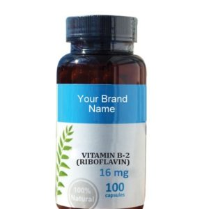 Vitamin B2 Food Supplement Natural Private Label | Wholesale