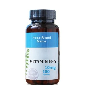 Vitamin B6 Food Supplement Natural Private Label | Wholesale