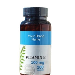 Vitamin E Food Supplement Natural Private Label | Wholesale