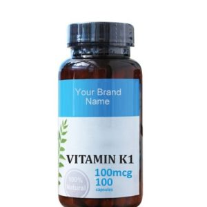 Vitamin K1 Food Supplement Natural Private Label | Wholesale